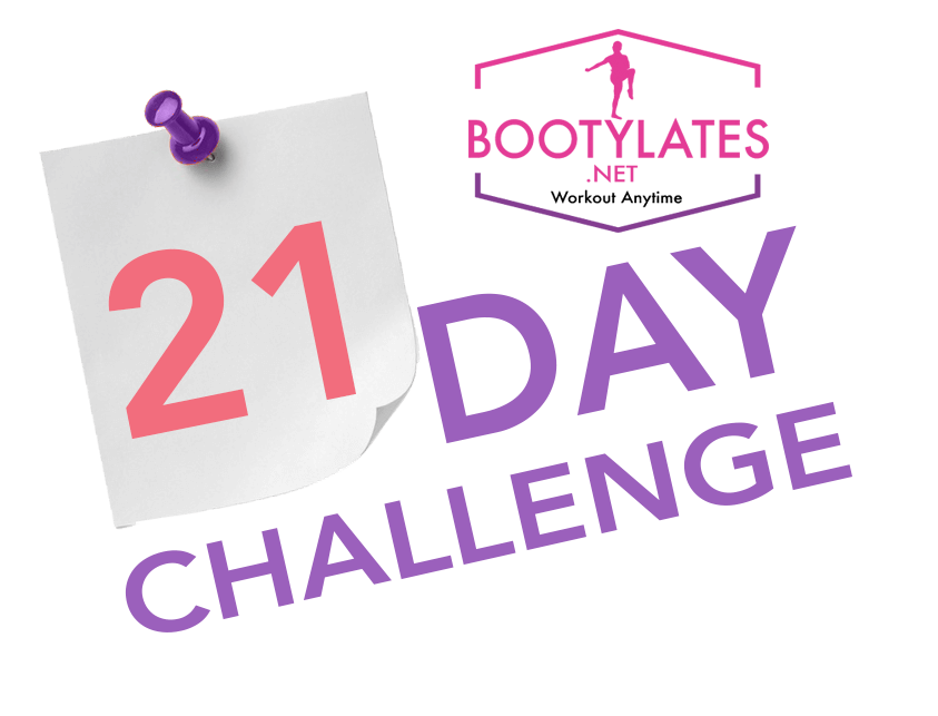 21-Day Challenge Bootylates logo