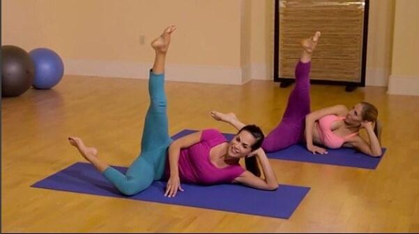 Nina Waldman Bootylates Workout Image