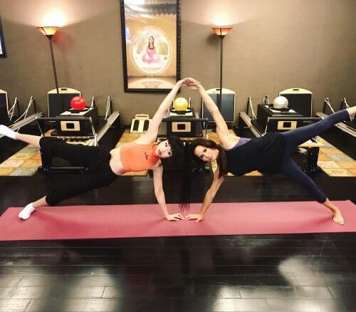 Image Of Nina Waldman Training At Body In Mind Studio In Las Vegas