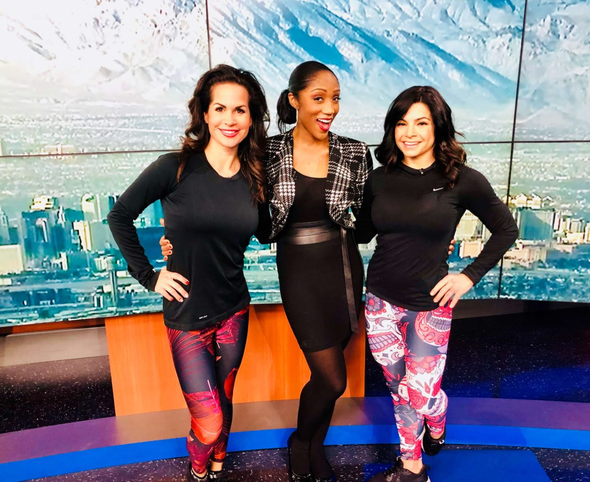 Nina Waldman Owner of Body In Mind Pilates Studio interview on Channel 3 in Las Vegas Nevada