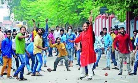 And now a flash 'beef riot' in Ranchi