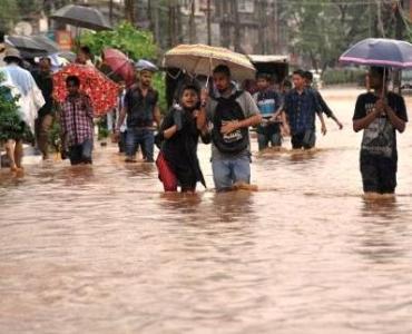 पटना के कई इलाको मे बाढ़ की आशंका