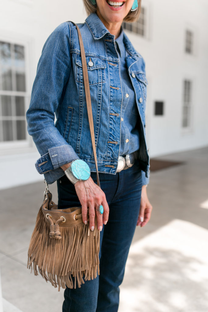 Western trend bag with fringe from Rebecca Minkoff