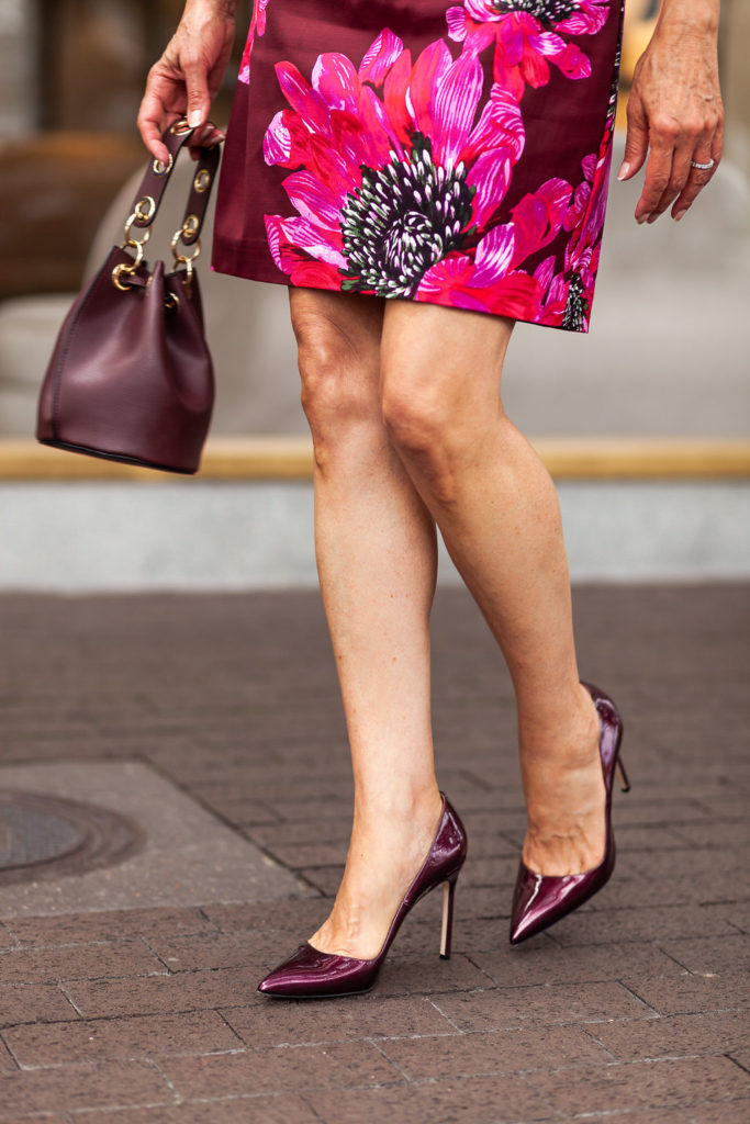 Manolo Blahnik pumps are always on trend.