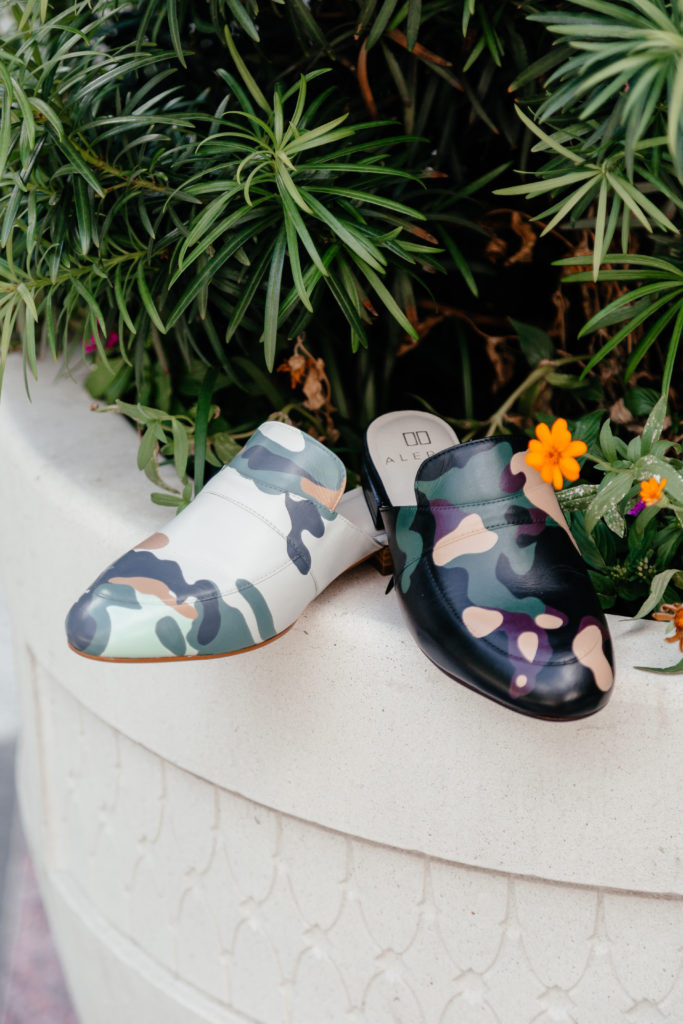 Camo is always trendy and Fashionomics gives some style tips.