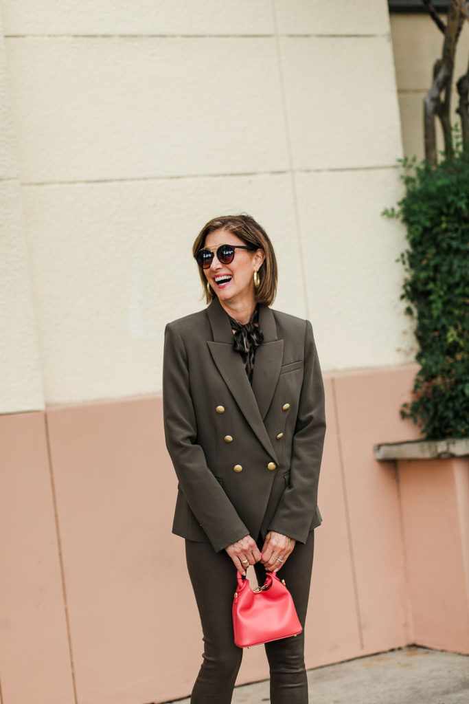 Olive green - the new neutral for Fall 2018