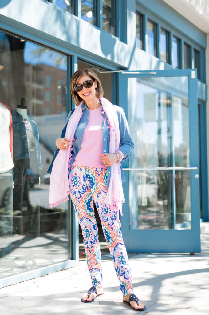 Fashionomics and how to style patterned jeans
