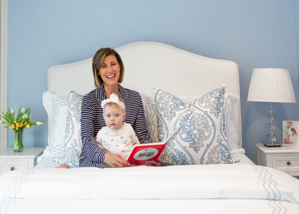 over 50 blogger in Nordstram pajamas