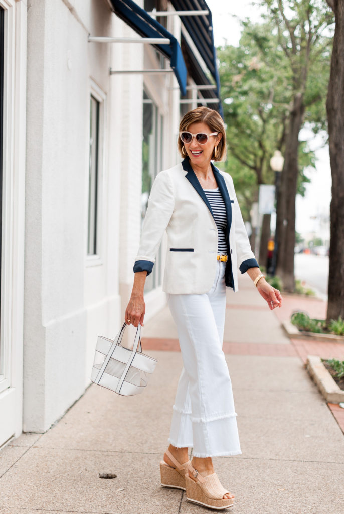 Shopping My Closet - Wide Leg Jeans