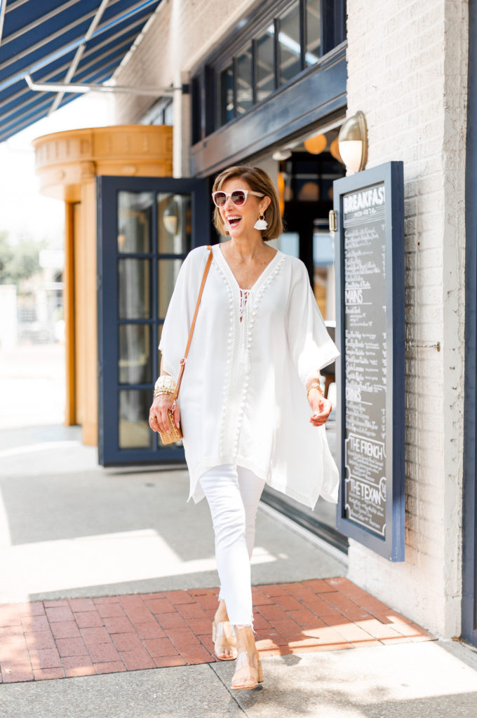 Rachel Zoe Box of Style white tunic