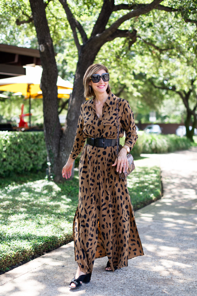 animal print dresses for fall 2019