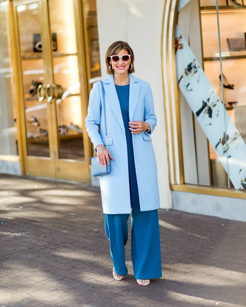 Spring trends in the color blue