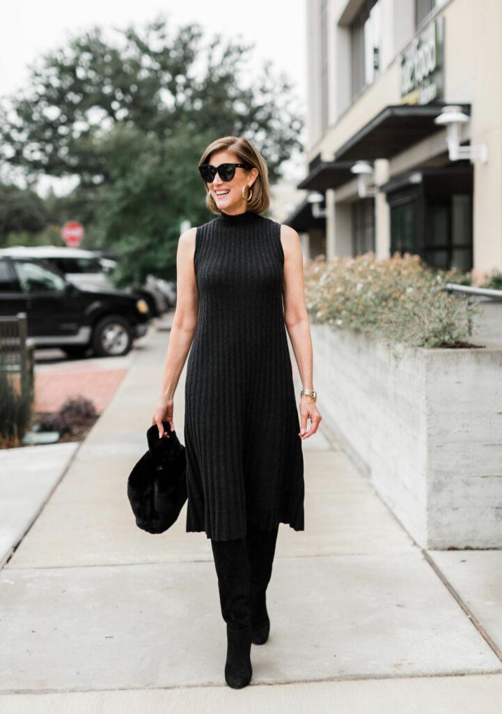 The Little Black Dress - Splurge vs Steal from Fashionomics