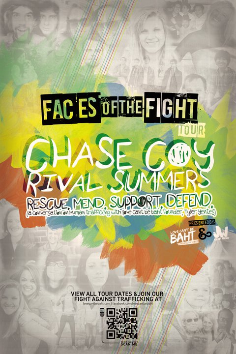 Rival Summers – 1st ROAD BLOG from the Faces Of The Fight Tour