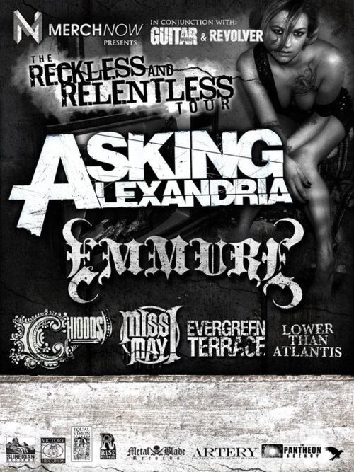 Reckless and Relentless Tour feat Asking Alexandria – REVIEW