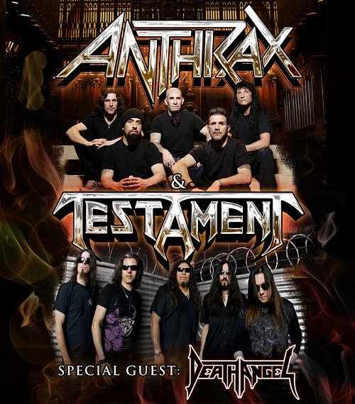 Anthrax / Testament Co-Headline Tour feat. Death Angel – TOUR REVIEW