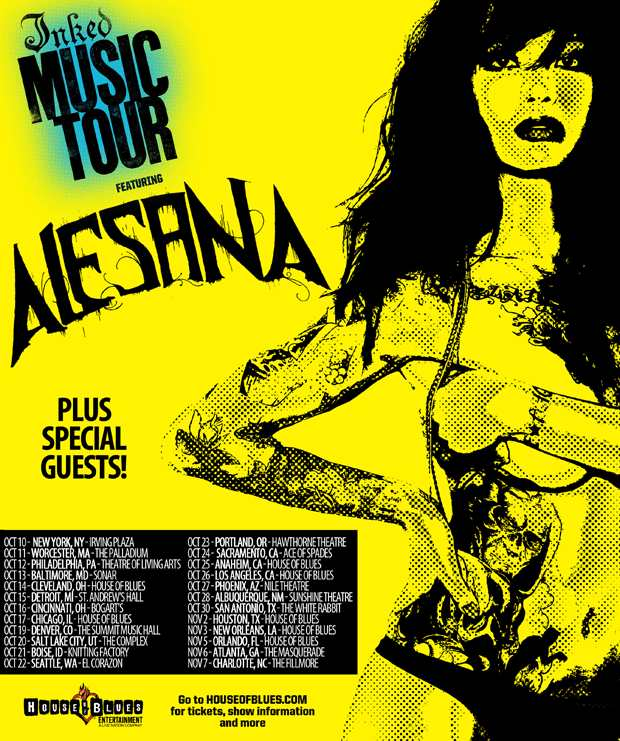 Inked Music Tour 2012 feat. Alesana – REVIEW