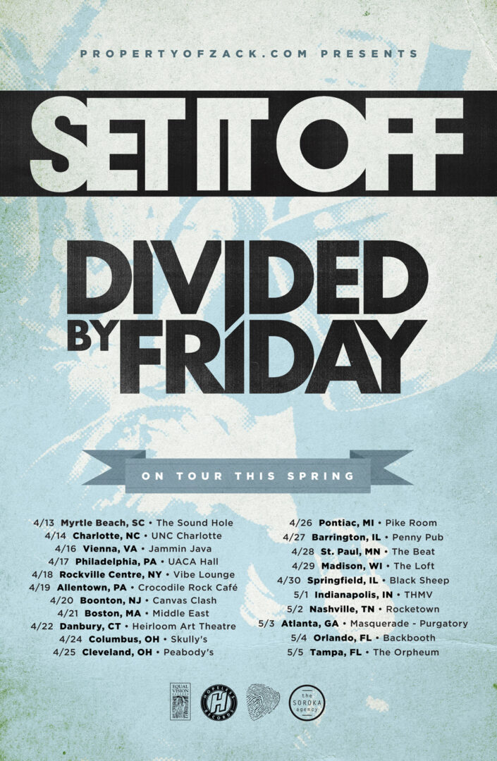 Set It Off / Divided By Friday Spring US Tour – REVIEW