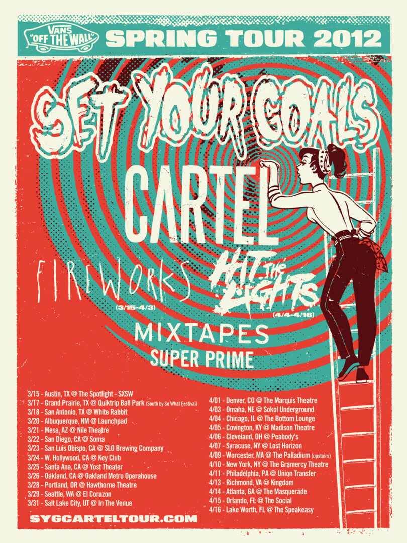 Set Your Goals and Cartel Co-Headline Spring Tour – REVIEW