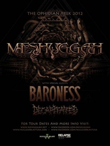 The Ophidian Trek North American Tour feat. Meshuggah – REVIEW
