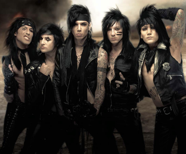 "Black Veil Brides Announce ""The Black Mass U.K. Tour"""