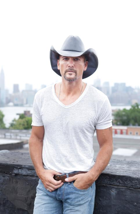 "Tim McGraw Announces ""Shotgun Rider Tour 2015"" Cities"