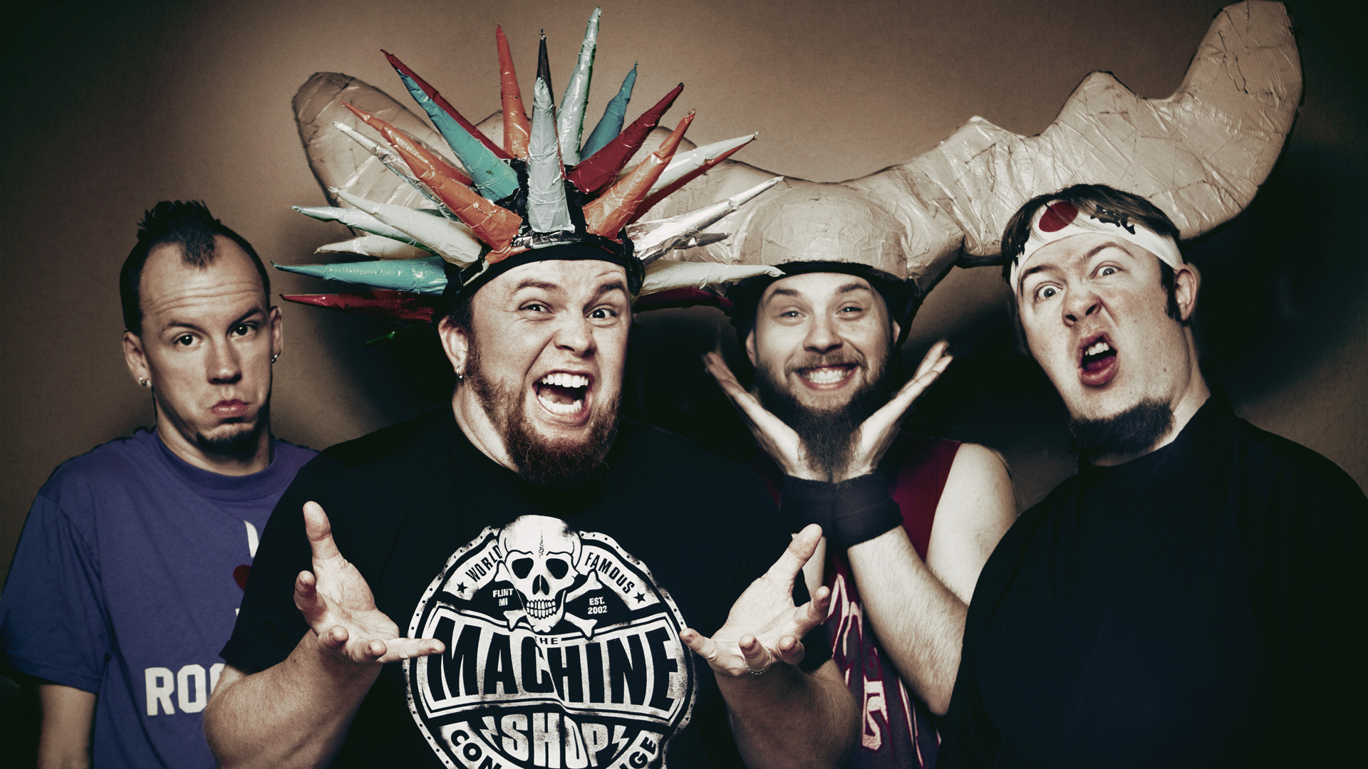 "Psychostick Announce ""The Blood, Guts and Sprinkles Tour"""