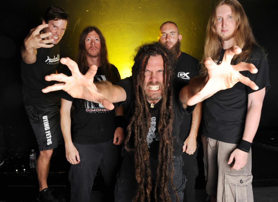 Six Feet Under Announces the Hell In July Tour