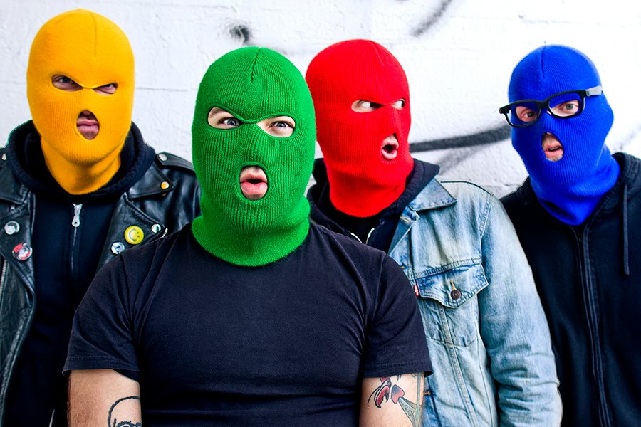 Masked Intruder Announce North American Tour