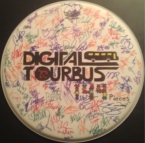 Ultimate Signed Drum Head Giveaway