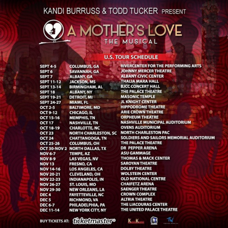 A Mother's Love U.S. tour - poster