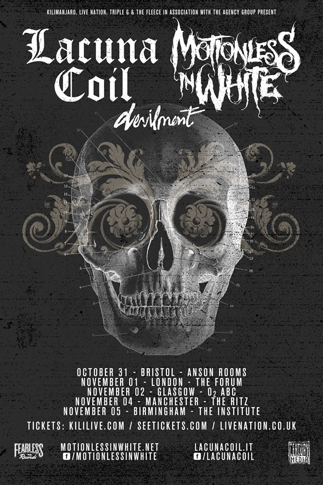 Lacuna-Coil-Motionless-In-While-Coheadlining-Tour-poster