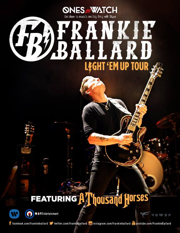 Light 'Em Up Tour - poster