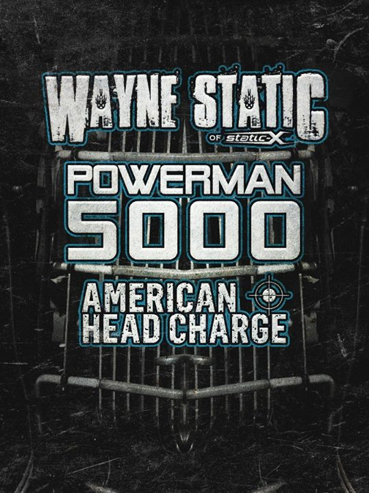 Wayne Static & Powerman5000 Co-Headlining Tour-poster