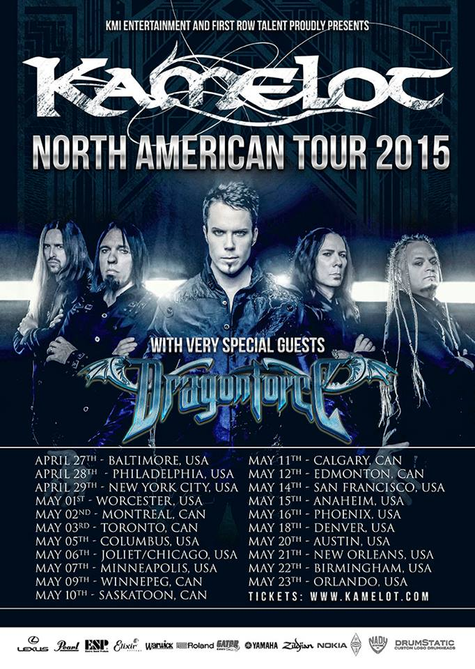 Kamelot-North-American-2015-Tour-poster