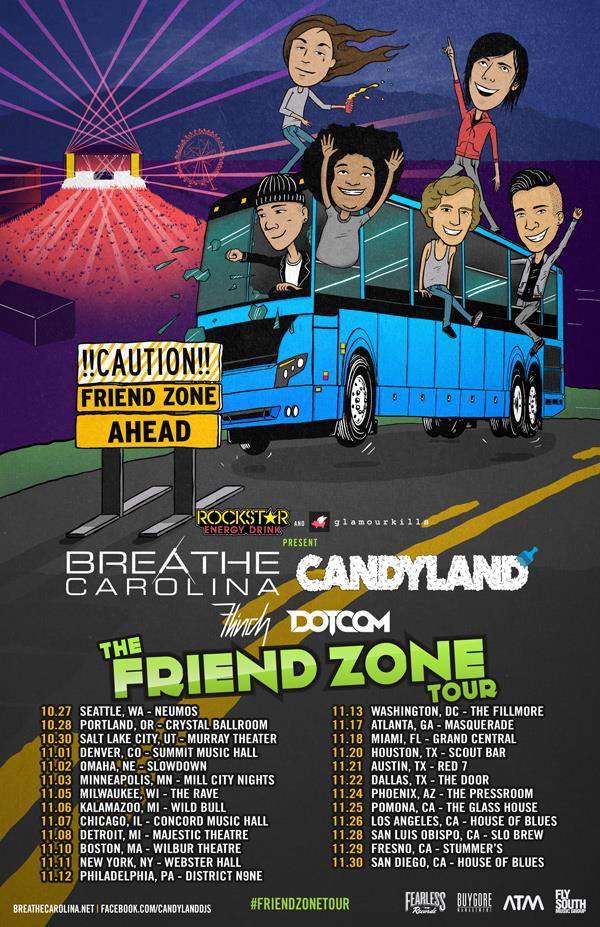The Friend Zone Tour - poster