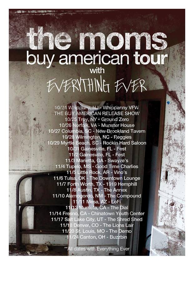 The Moms - Buy Amiercan Tour - poster