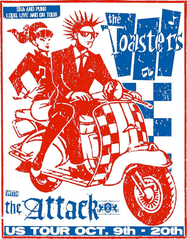 The Toasters and The Attack Fall 2014 - poster
