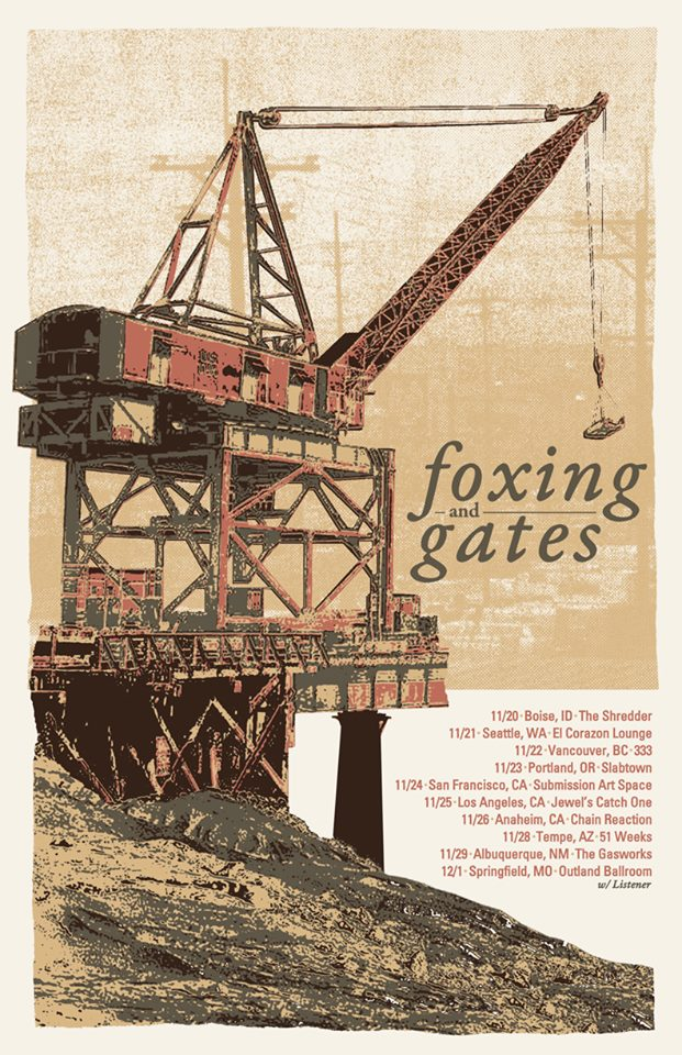 Foxing-And-Gates-Fall-U.S.-Tour-poster