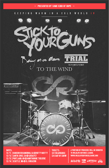 Stick To Your Guns Keeping Warm In A Cold War IV - poster