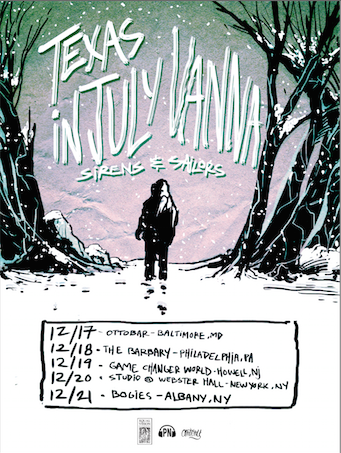 Texas In July Holiday Tour 2014 - poster