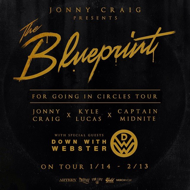 Jonny-Craig-The-Blueprint-For-Going-In-Circles-Tour-poster