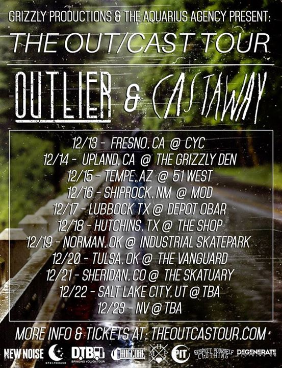 Outlier-Castaway-The-Outcast-Tour-poster