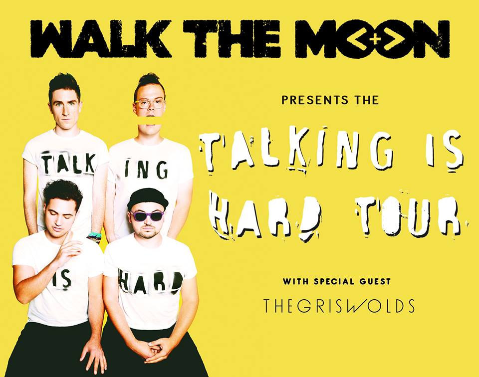 """Walk The Moon's """"Talking Is Hard Tour"""" – Ticket Giveaway"""