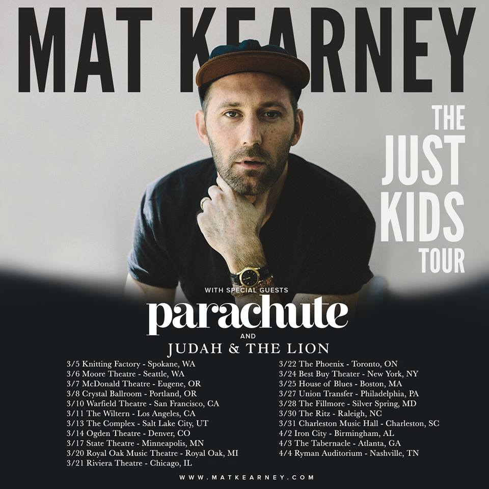 Mat-Kearney-Just-Kids-Tour-poster