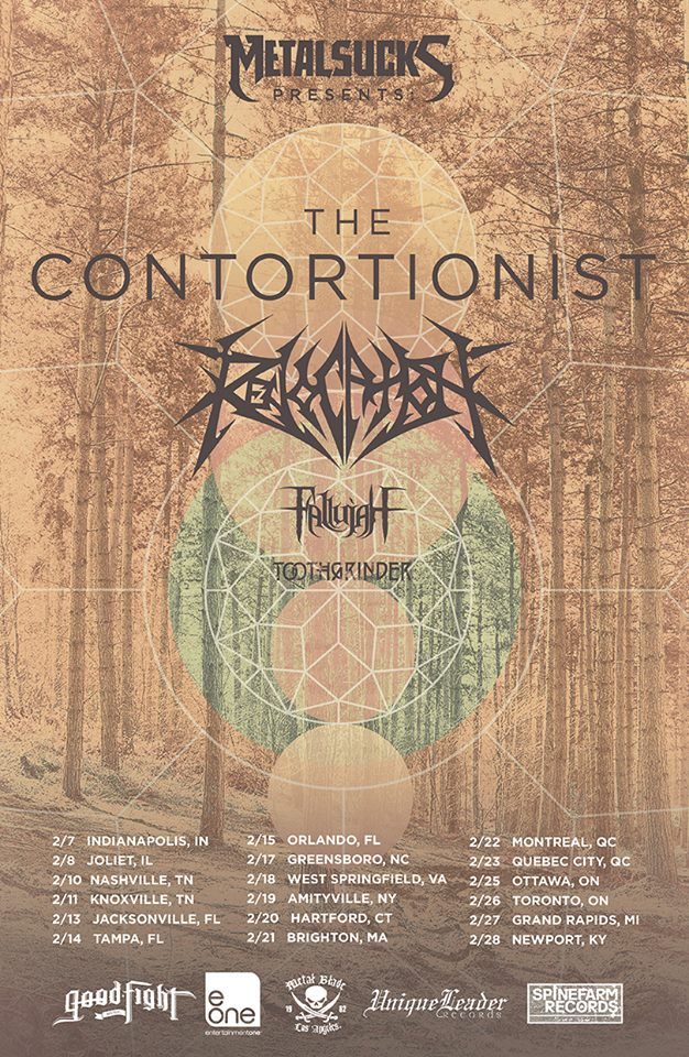 The-Contortionist-Winter-North-American-Tour-poster