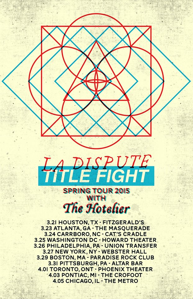 Title-Fight-La-Dispute-Co-Headlining-Spring-Tour-poster