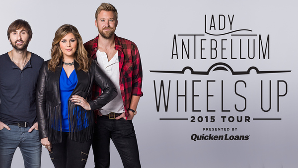 Lady Antebellum - Wheels Up Tour - poster 1