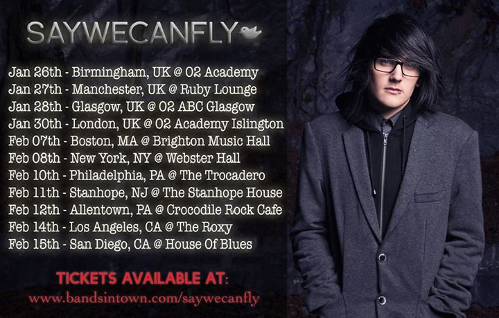 SayWeCanFly-Winter-Tour-poster