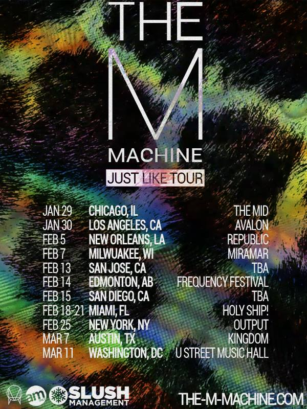 The-M-Machne-Just-Like-Tour-poster